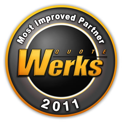 QuoteWerks Most Improved Partner Award 2011